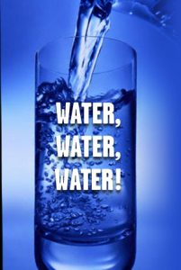 drink water to stay healthy and hydrated