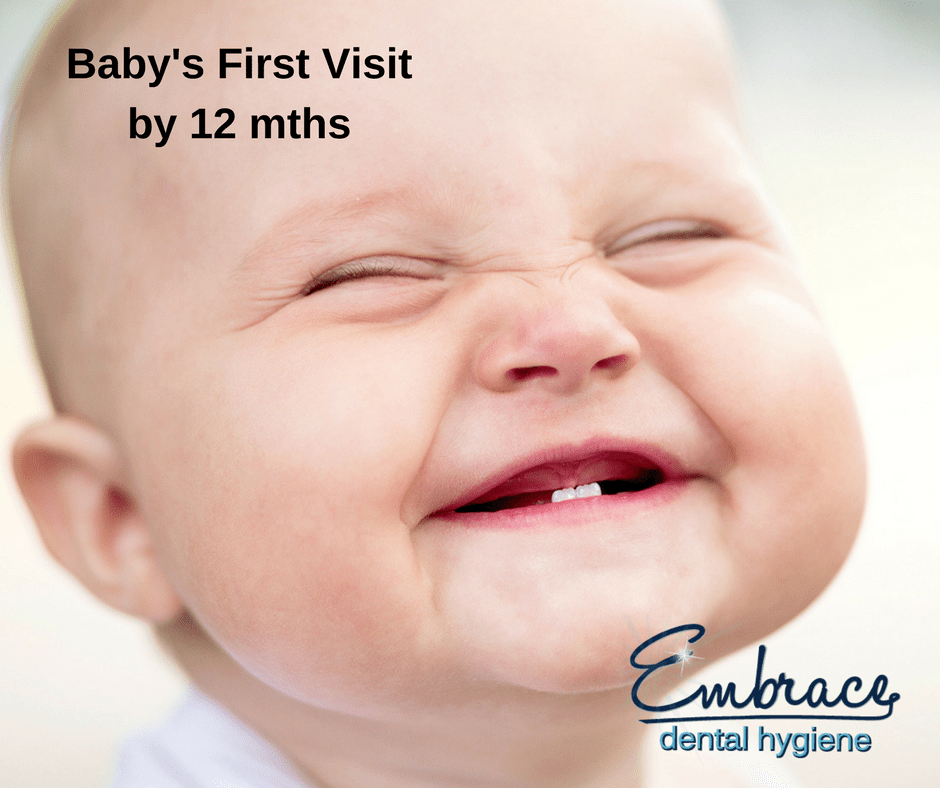 Baby's first visit will prevent cavities from the start