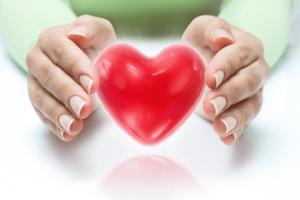 heart in hands