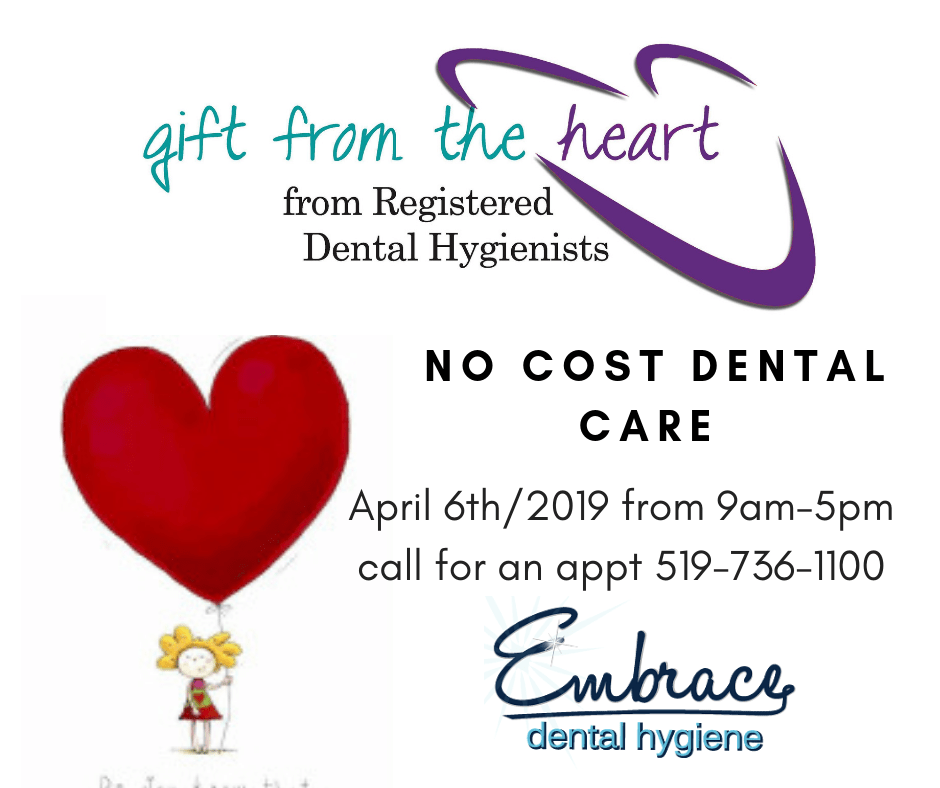 gift from the heart no cost dental care